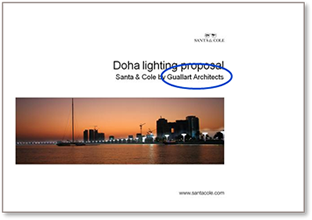 20080502-Doha lighting proposal